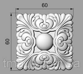 Розетка 52 - 60х60 - для мебели, фото 2