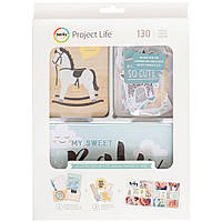 Набір карточок - Project Life - Little You - Boy - 130Pkg