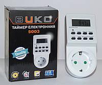 Таймер электронный недельный BUKO