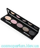 Палетка теней для век 5-цветные IsaDora Eye Shadow Palette - Тон 50 (Шоколадный матовый)
