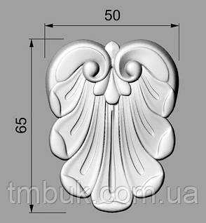 Розетка 56 - 50х65 -  резная лепесток, фото 2