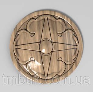Розетка 60 - 60х60 - ромб резная, фото 2
