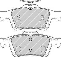 Колодки тормозные задние FERODO Ford Focus 3