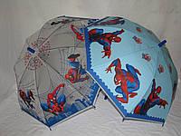 Детский зонт-трость Человек-Паук Spiderman из поливинила