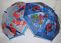 Детский зонт-трость Человек-Паук Spiderman и Супергерои из поливинила