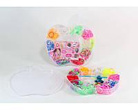 Набор резинок для браслета Loom Band LB015 резина, разные цвета, в коробке, резинки для плетения Loom Band LB015