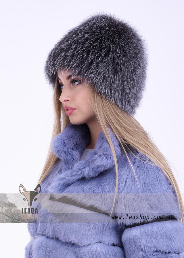 Меховая песцовая шапка для женщин