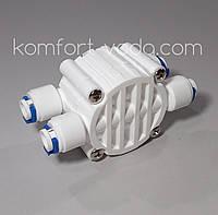 "Четырёхходовой клапан для осмоса S-3000WJG, 4 х 1/4"""