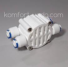 "Чотирьохходовий клапан для осмосу Organic, 4 х 1/4""QC"