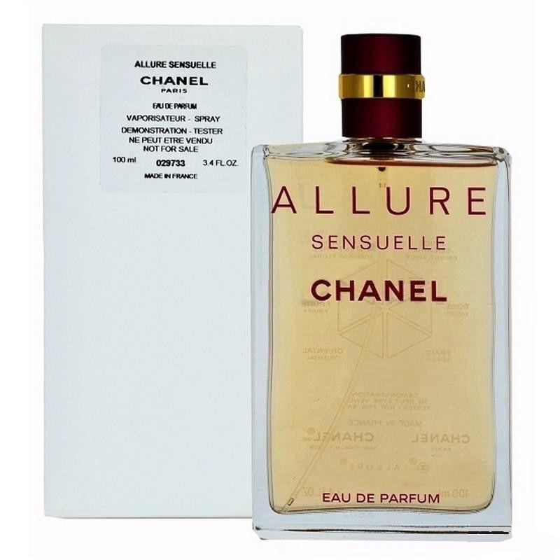 Chanel Allure Sensuelle парфюмированная вода 100 ml. (Тестер Шанель Аллюр Сенсуэль)