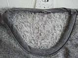 Сорочка ночная рубашка женская теплая зимняя плюшевая Dobra Nocka 9403, фото 5