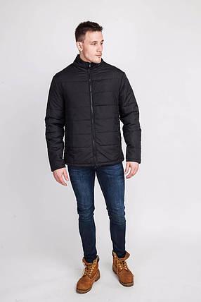 Мужская курточка черная, фото 2