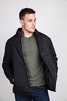 Мужская курточка черная, фото 3