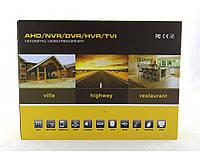 Регистратор UKC DVR CAD 1208 AHD 8ch, портативная, день - ночь, внутренняя / уличная, удаленное подключение, регистратор дляя камеры видеонаблюдения