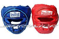 """Шлем боксёрский """"SPRINTER"""" закрытый, с маской кожезаменитель"""