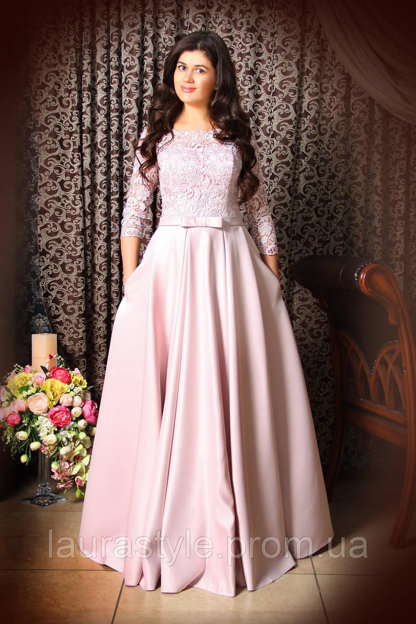 78a532e6df9 Свадебное платье с атласной юбкой А-силуэта - Свадебный салон