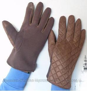 Кашемірові рукавички чоловічі весна-осінь