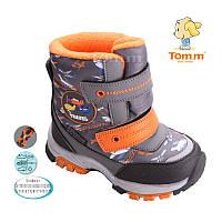 Детские Термо сапоги зимние на мальчика TomM. детская зимняя обувь  Размер 23 26 27 28