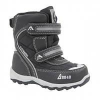 Термо ботинки сапоги детские зимние на мальчика B&G зимняя обувь  Размер 23-28