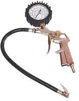 Пистолет для подкачки шин, манометр D-63 мм, до 15 Атм King TG-4