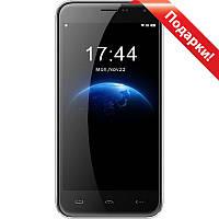 "Смартфон 5"" HOMTOM HT3, 1GB+8GB Серебристый MT6580A 4 ядра Android 5.0 камера Samsung 5 Мп 3000 mAh"