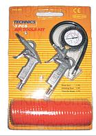 Набор пневмоинструментов, 2 предметa, King KSC-803
