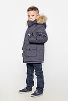 Зимняя куртка парка на мальчика Роджер размеры 146, 152, 158