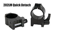 Кольцa быстросъемные Warne  Quick Detach Rings 25,4 мм
