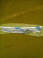 Решетка радиатора Приора хром ( 4 широких полосы)