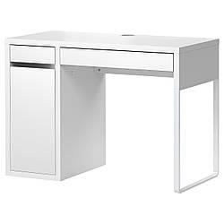 МИККЕ Письменный стол, белый, 802.130.74