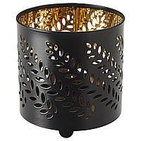 СТАБИГ украшение д/свечи в стеклян стакане