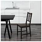 СТЕФАН Стул, черно-коричневый, 002.110.88, фото 2