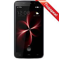 "Смартфон 5.5"" HOMTOM HT7, 1GB+8GB Черный 4 ядра камера Samsung 5 Мп 2 Sim мощная батарея 3000mAh Android 5"