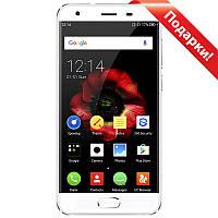 "Смартфон 5"" OUKITEL K4000 Plus, 2GB+16GB Белый 4 ядра 2.5D экран Dragontrail камера 8Мп 4100 mAh Android 6"