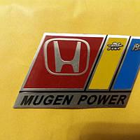 Емблема на авто Honda(Mugen Power) 69×58 мм.