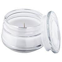 ЛУГГА ароматическая свеча в стакане