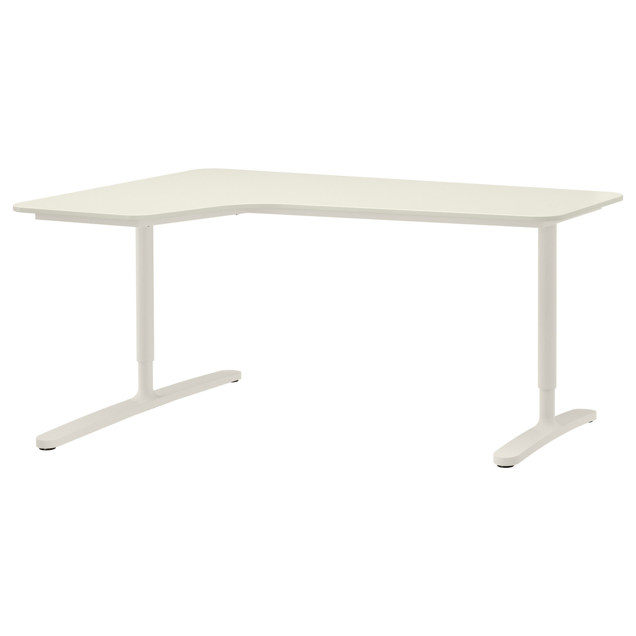 БЕКАНТ углов письм стол левый