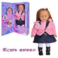 TG Кукла 1048052 R/MY 041   Танюша, интерактивная, муз, на бат-ке, в кор-ке, 62-28-14см