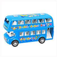 Автобус 108-19   инер-й, двухэтажный, в кульке, 20-7-10см