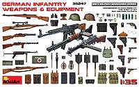 Немецкое пехотное оружие и снаряжение 1/35