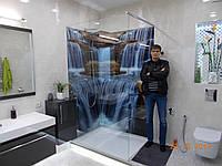 """Фото панно """"Водоспад"""" в душову кабіну(підсумок моєї роботи), фото 1"""