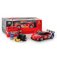 Машина 8108 AB   р/у, аккум, 1:20, свет, Ferrari F430GT, 22см, 2 вида, в кор-ке, 37-14,5-13,5см