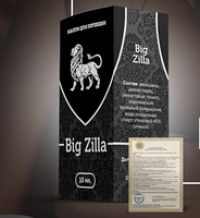 ОРИГИНАЛ! Капли для потенции Big Zilla, Big Zilla, Капли для потенции Биг Зилла, Биг Зилла, Big Zila