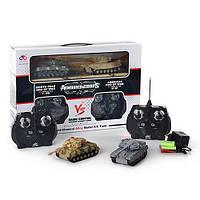 Набор игровой CDL 11368 D   р/у, аккум, танки 2шт, 1:58, 2 вида, в кор-ке, 45-30-11см