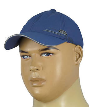 Мужская синяя бейсболка Maxval ВТ1020015 на флисе