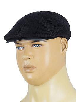 Вельветовая мужская кепка Magneet 0234 черного цвета
