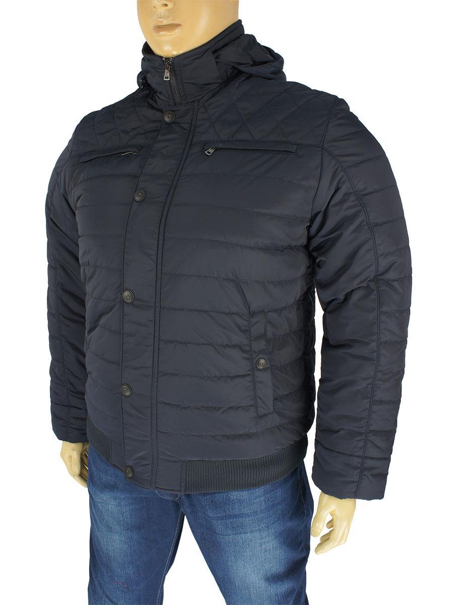 Зимняя мужская куртка Santoryo WK 8190 С-Lacivert - Магазин мужской одежды