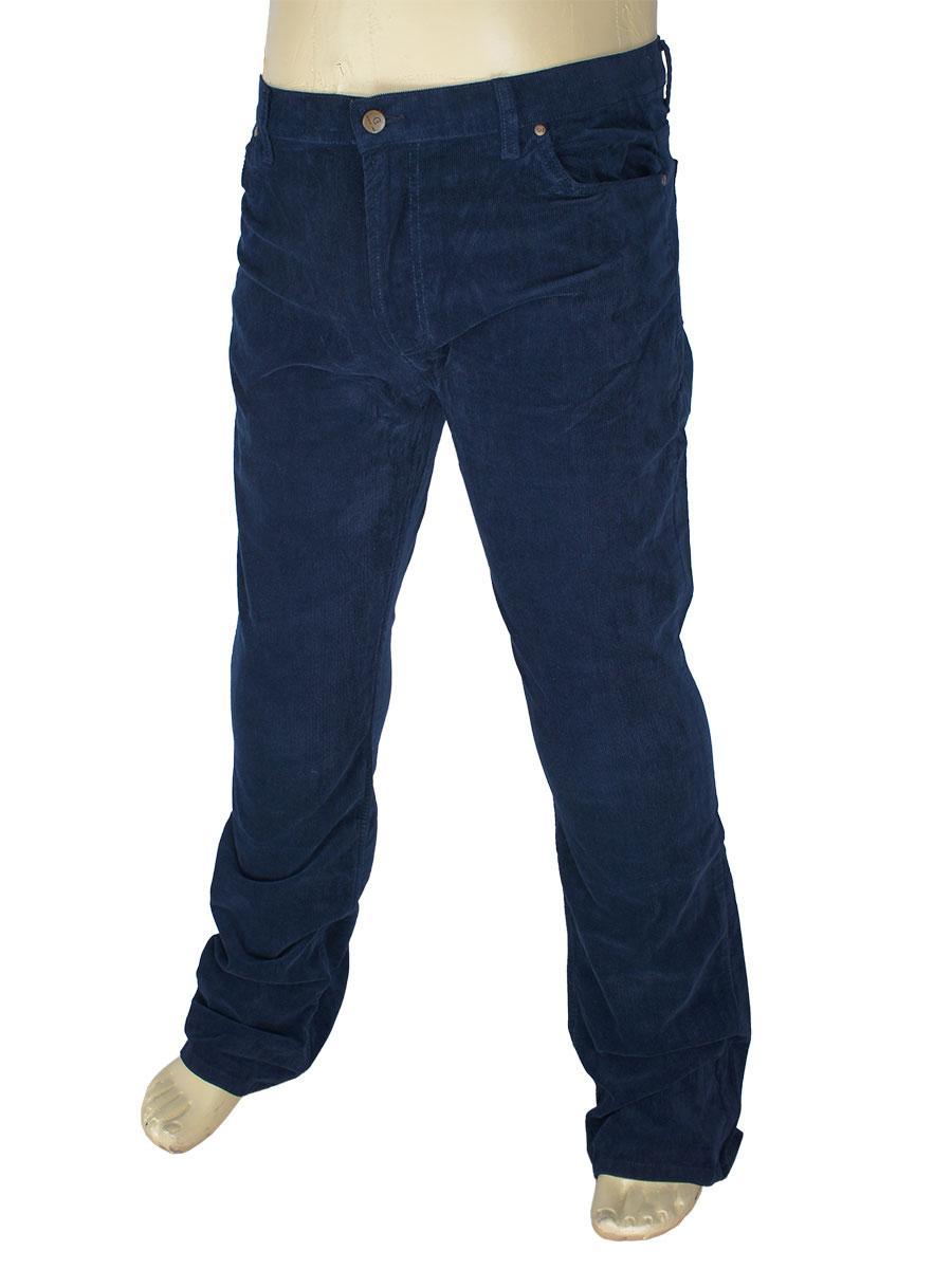 Мужские джинсы Cen-cor CNC-1445 ВТ темно-синие