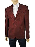 Стильный мужской пиджак Daniel Perry LARDINES в бордовом цвете