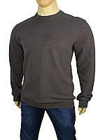 Мужской свитер Better Life 529 В серый большого размера